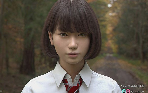 Saya lyceenne japonaise 3D_3