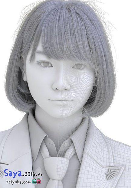 Saya lyceenne japonaise 3D_5