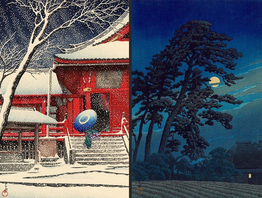 hasui kawase estampes japonaises 20e siecle_2