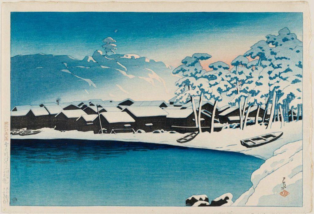 hasui kawase estampes japonaises 20e siecle_20
