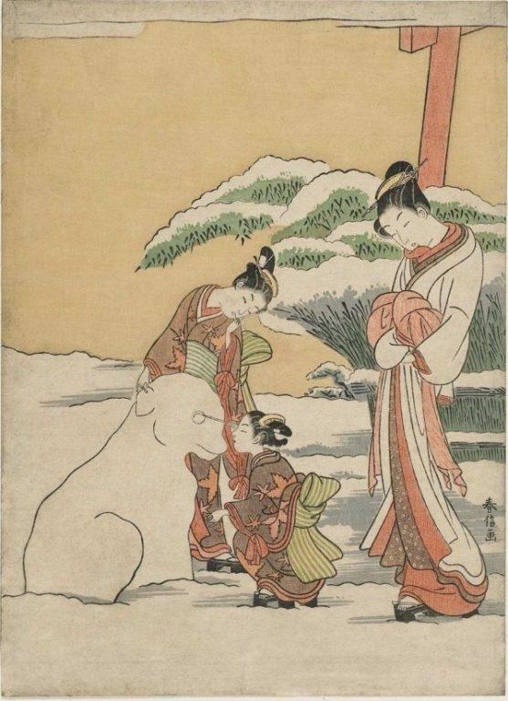 estampe edo hiver neige japon_5