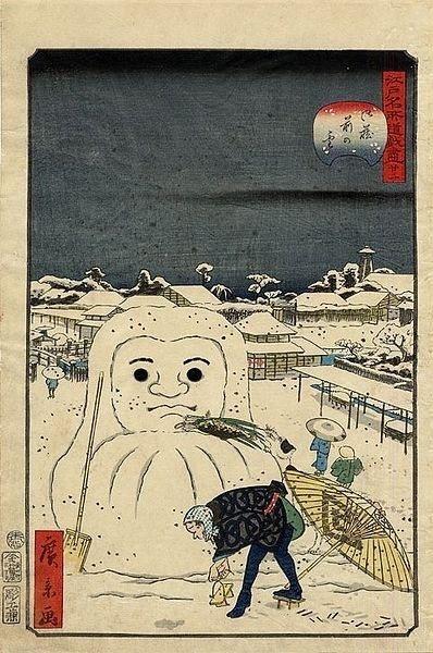 estampe edo hiver neige japon_8