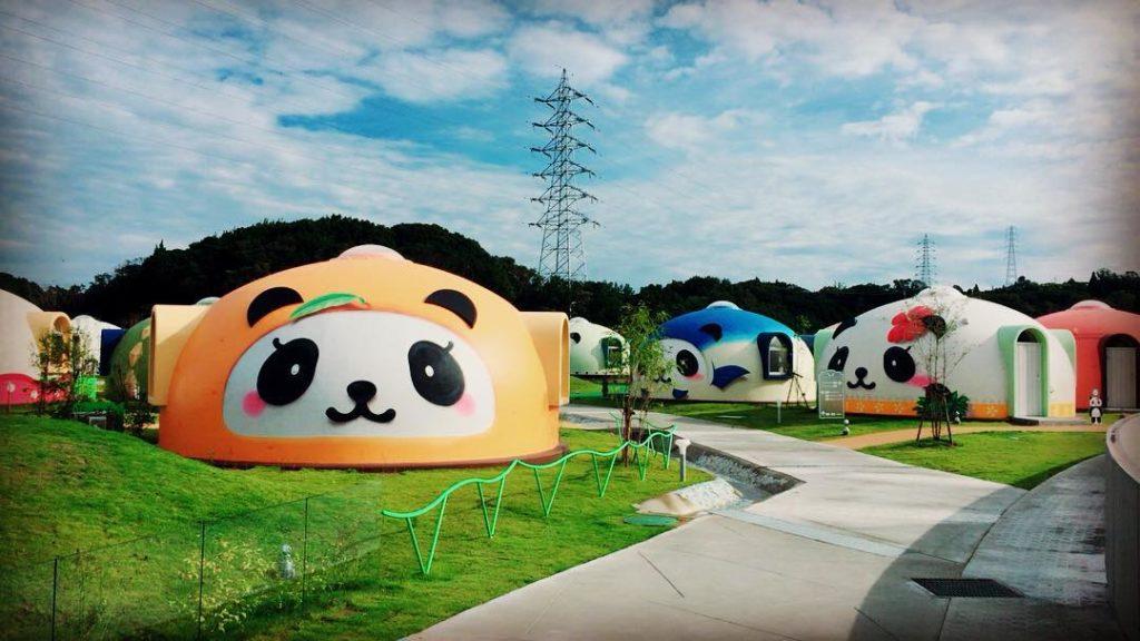 Au Japon, le camping le plus kawaii du monde   DozoDomo