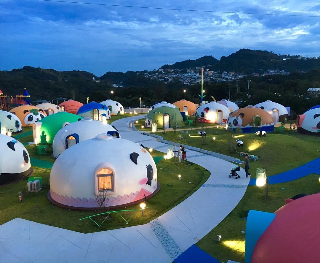 Au Japon, le camping le plus kawaii du monde | DozoDomo