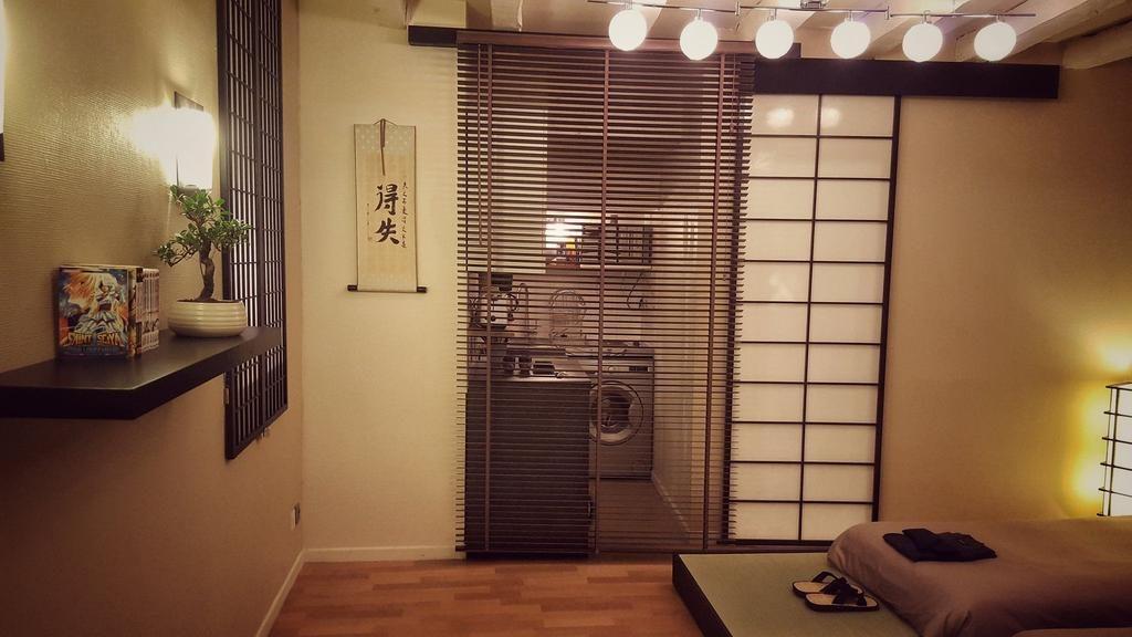 Une jeune nantaise transforme son appartement en auberge for Appartement design japonais