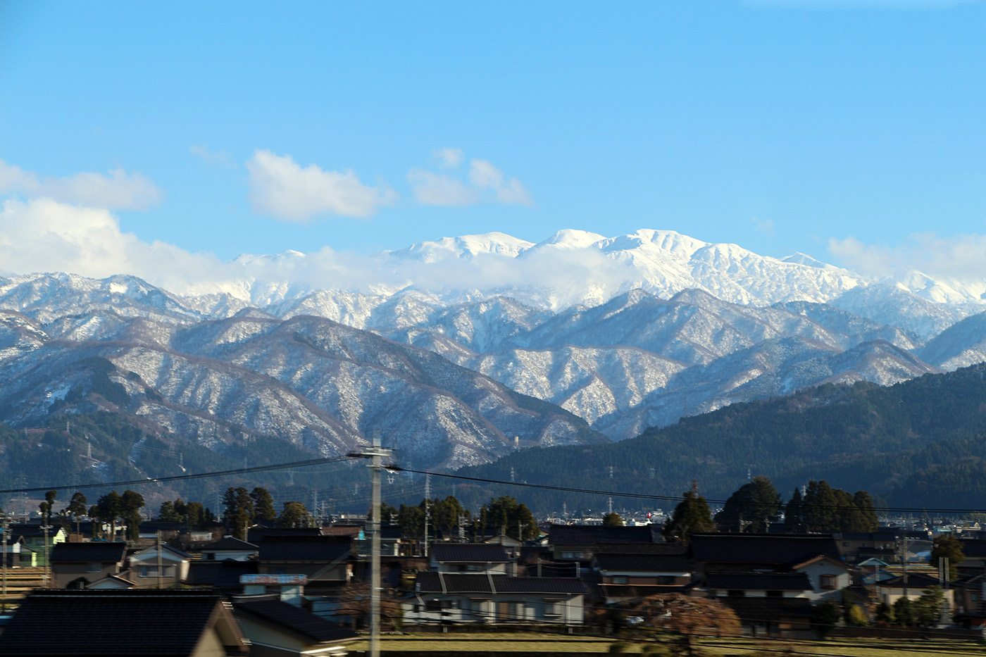 Nagano montagnes