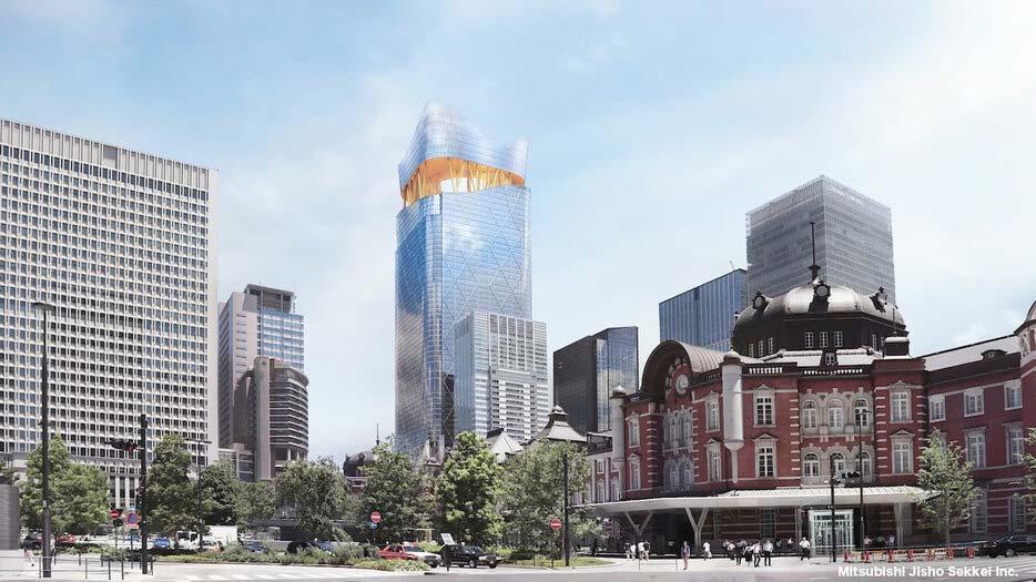 Un immeuble de 390 mètres, le plus grand du Japon, sera construit à Tokyo en 2027